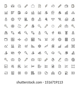 Save money icon set. Collection of high quality black outline logo for web site design and mobile apps. Vector illustration on a white background