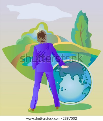 Save Our Green World Stock Vector Royalty Free 2897002 Shutterstock