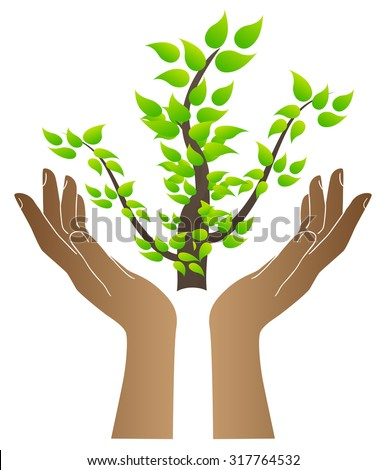 save trees hands stock vector royalty free 317764532 shutterstock