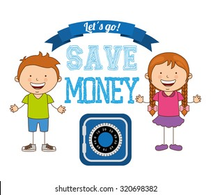 saving children design, vector illustration eps10 graphic