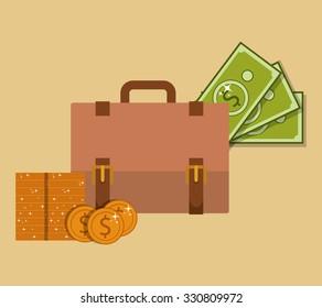 saving money design, vector illustration eps10 graphic
