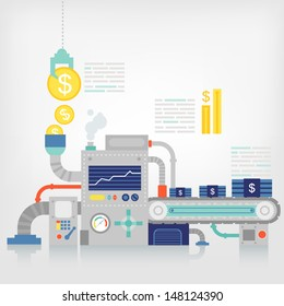Savings financial/business concept