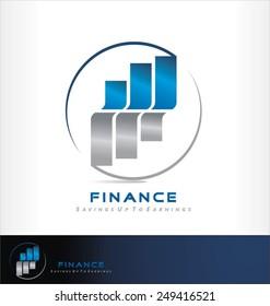 savings logo vector