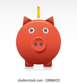Savings. Vector in Adobe Illustrator EPS for multiple applications.