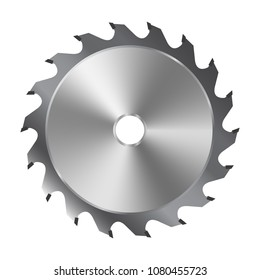 Saw blade for circular saw. Vector illustration
