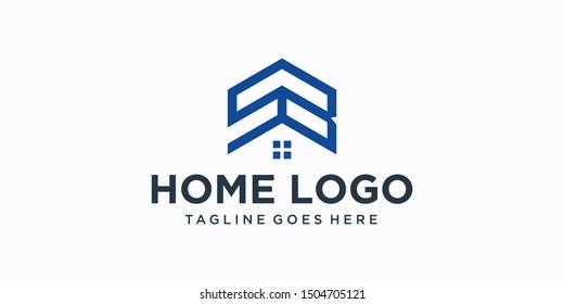 sb home logo design inspiration