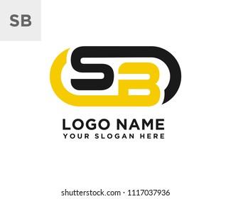 SB initial logo template vexctor