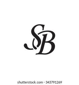 SB initial monogram logo