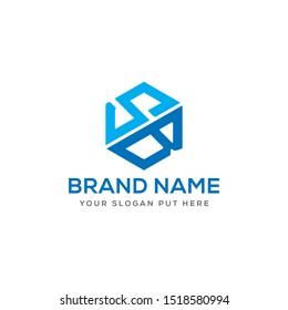 SB Letter logo design template vector eps