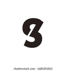 sb letter logo. es letter logo. gb letter logo