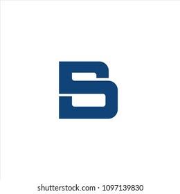 sb letter monogram concept logo