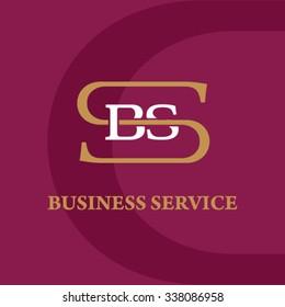 SBS business logo template