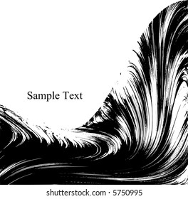 Scalable waves and curves, room for text