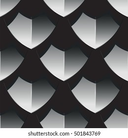 Scale armour, seamless texture