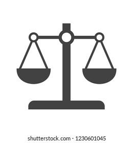Scale Glyph black icon
