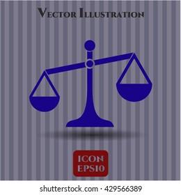 Scale icon or symbol