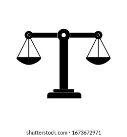 scale icon vector illustration sign symbol