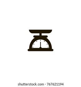 scales icon. sign design