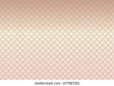 Scales pattern design vector. (Set 1)
