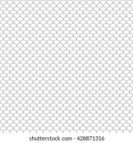 scales seamless pattern .Vector illustration. EPS 10.
