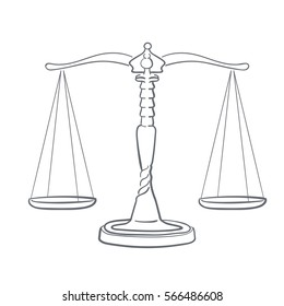 Weighing Scales Drawing Images Stock Photos Vectors Shutterstock