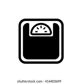 scales weighing calorie kilos kilogram black simple icon