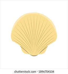 Scallop For Animal Vector Illustration