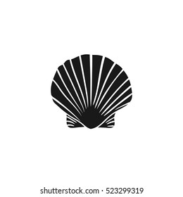 Scallop vector illustration