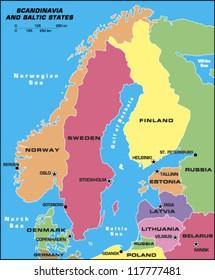 Scandinavia and Baltic States