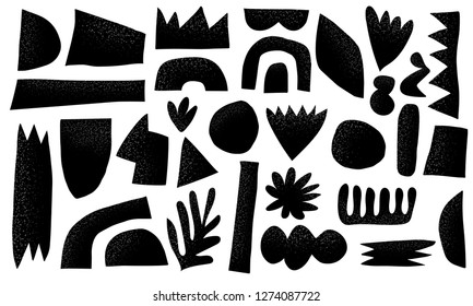 Scandinavian cut out shape collection