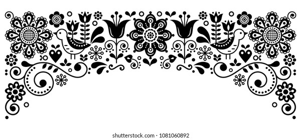 Vector Scandinavian Flower Images, Stock Photos & Vectors