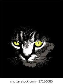 Cartoon Scary Cat Images Stock Photos Vectors Shutterstock