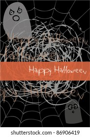 Scary Halloween Card