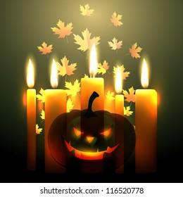 scary halloween vector design illustration