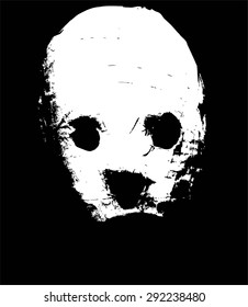scary mask vector