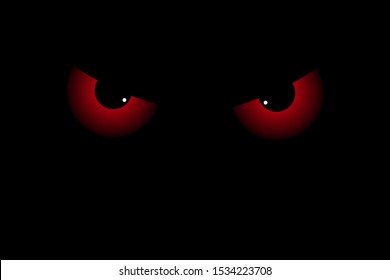 scary red eyes on dark 260nw 1534223708