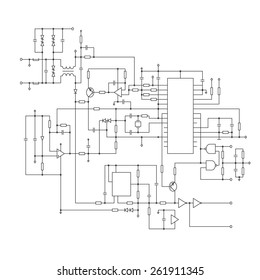 schematic diagram