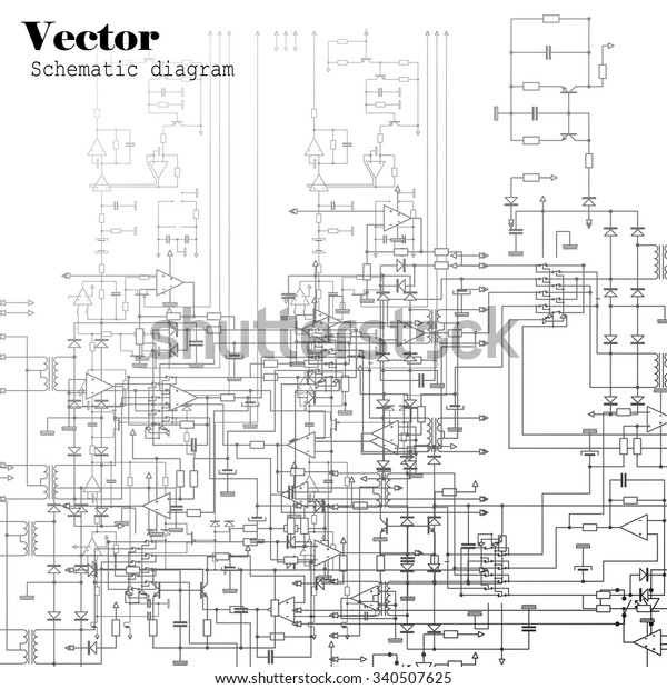 how to create a schematic diagram