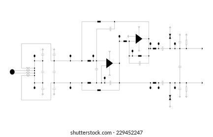 Circuit Diagram Symbols Images Stock Photos Vectors Shutterstock