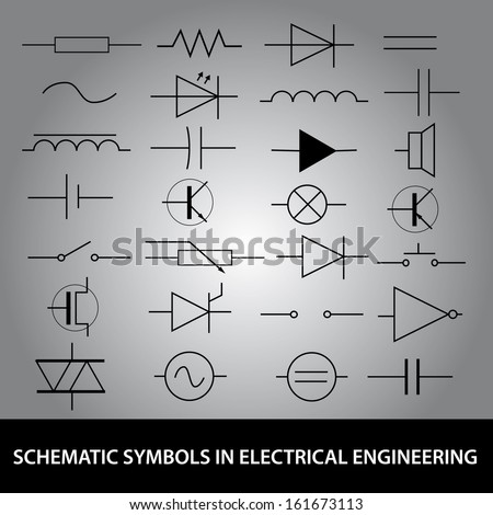 Schematic Symbols Electrical Engineering Icon Set Stock Vector ... on blueprint reading symbols, alchemical symbol, engineering p&id symbols, unicode symbols, engineering symbols and meanings, engineering 3d symbols, traffic sign, engineering mechanical symbols, standard engineering symbols, standard electrical symbols, astrological symbols, greater than and less than symbols, secular icon, engineering design symbols, adinkra symbols, engineering blueprint symbols, engineering cable symbols, engineering map symbols, engineering plan symbols, engineering assembly symbols, engineering drawing symbols, engineering flow symbols, engineering flowchart symbols, engineering cad symbols, engineering diagram symbols, abstract and concrete, kenneth burke, engineering electrical symbols, symbols of death, letterlike symbols, symbol rate,