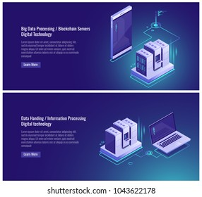 Scheme topology of network, data upgrade, clone of file structure, cloud backup copy, server room, cloud service smartphone, laptop vector illustration on ultraviolet background