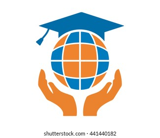 Scholar images stock photos vectors shutterstock scholar globe image vector icon logo symbol stopboris Choice Image