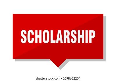 scholarship red square price tag