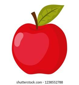 school apple cartoon