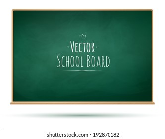 School board background. Vector illustration.