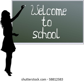School board - welcome to school