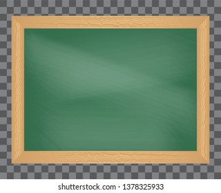 School board with wood frame, ready for your customized text or images. The school Board.