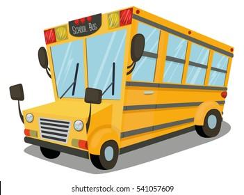 School Bus Vector Art