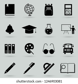 School and Education Icons - Set