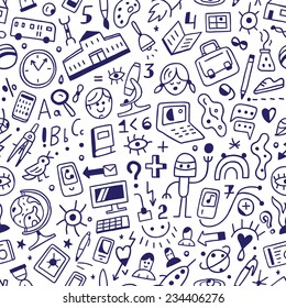School education - seamless background